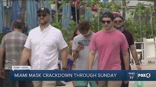 Miami enforcing mask mandates
