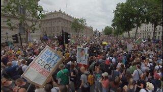 London FREEDOM Lockdown & 'Vaccine' Protest 26/6/21