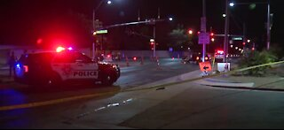 Las Vegas officer injured in crash with suspected DUI driver