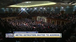 Metro Detroiters invited to State of the Union