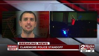 Claremore police arrest man after 2 standoffs in 24 hours