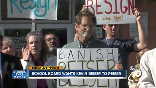 School board wants Kevin Beiser to resign