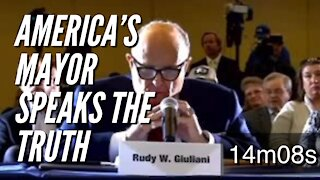 Giuliani Exposes ALL the Democrat Fraud