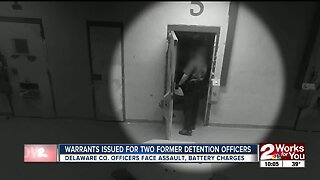 Warrants issued for two former detention officers