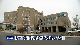 Healthcare Professionals Center opens today
