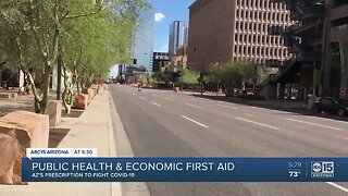 Public health and economic first aid