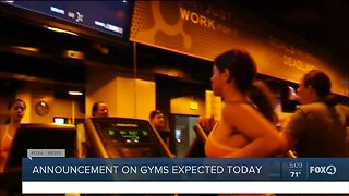 Gyms could be reopening soon in Florida