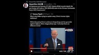Cuomo/#Cuomogate, Gov. Cuomo Investigation, China Joe defends CCP
