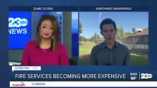 Some Kern County cities struggling to afford contract price increases for fire services