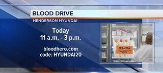 Henderson Hyundai holds blood drive