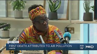 First pollution-related death