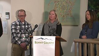 Summit County officials update public on Colorado's first coronavirus case