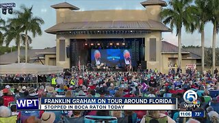 Franklin Graham stops in Palm Beach County