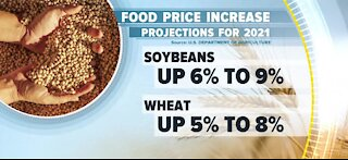 Food prices rise with no end in sight
