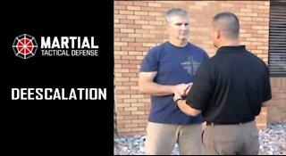 Church security: de-escalation