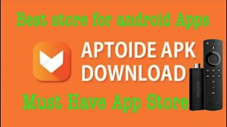 How To Install Aptoide Tv on The Firestick