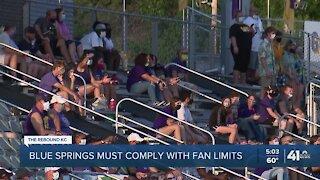 Judge denies BSSD's restraining order to overturn fan limits