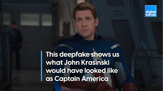 This deepfake shows us what John Krasinski would have looked like as Captain America