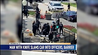#BREAKING U.S. CAPITOL One Capitol Police officer, suspect Killed after Car Rams into Barricade