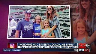 Honoring OCC Baseball coach