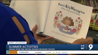 Summer reading, writing programs open for kids in Southern AZ