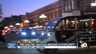 Free shuttles gaining popularity downtown