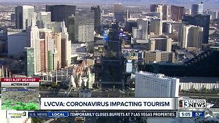 LVCVA: Coronavirus impacting Las Vegas tourism