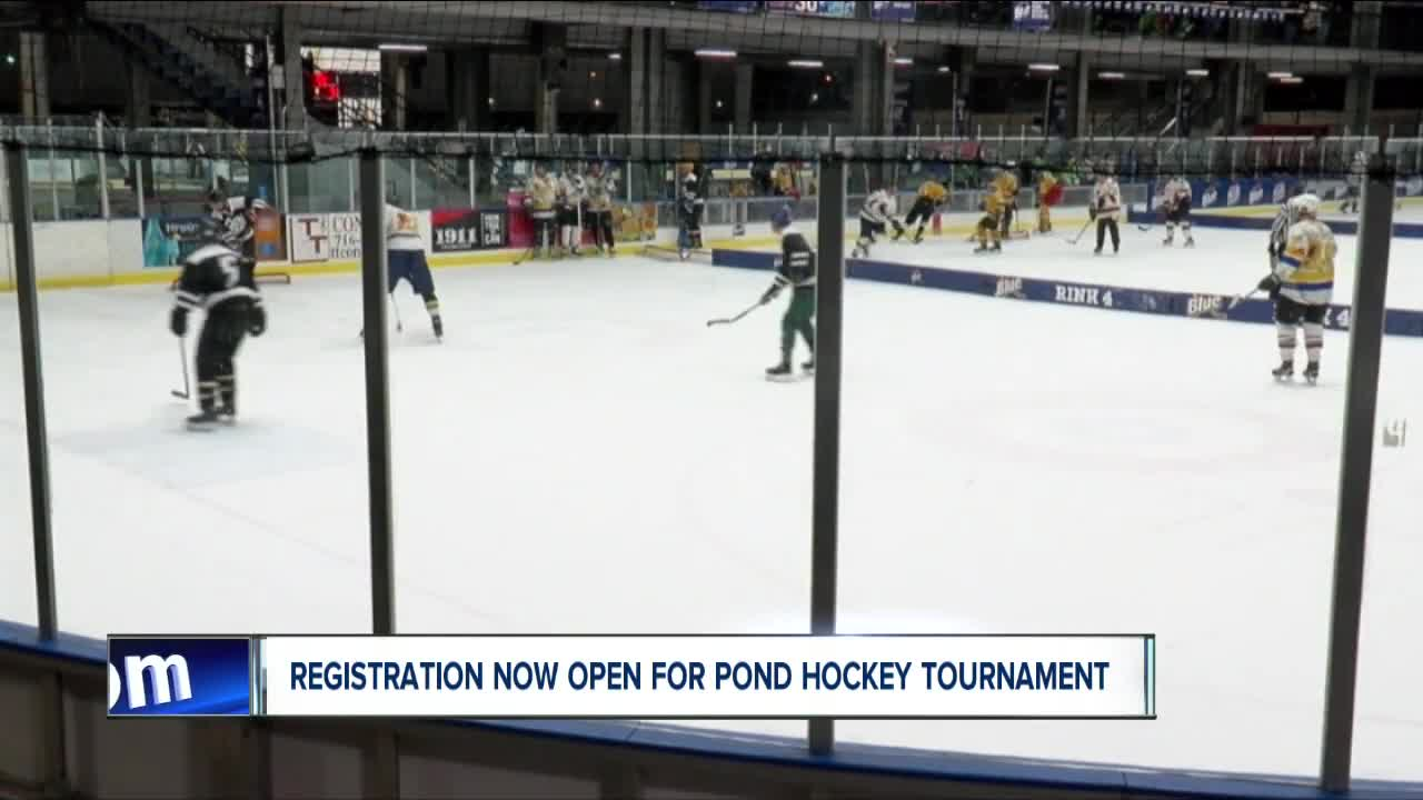 Pond hockey tournament registration now open