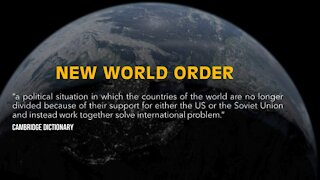 Joe Biden restorer of the New World Order