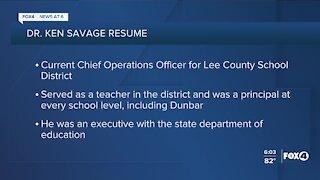 Lee County School District names Interim Superintendent