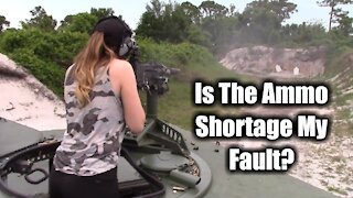 Is The Ammo Shortage My Fault? - Full Auto With American Outdoor Brands