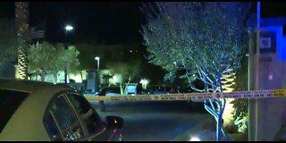 Heavy police presence in west Las Vegas