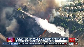 Wildfires ravaging Southern California