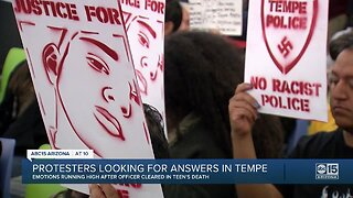 Protesters looking for answers in Tempe