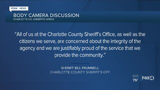 Charlotte County Sheriff's Office exploring body cameras for all deputies