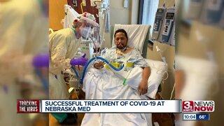 Successful Treatment of COVID-19 at Nebraska Med