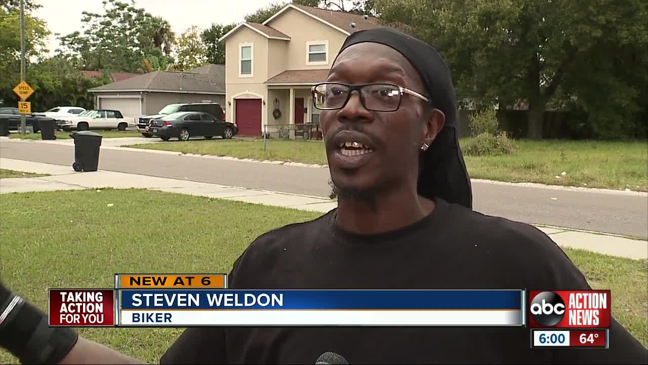 Bicyclist recovering after hit-and-run crash in St. Pete