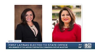 First Latinas elected to state office