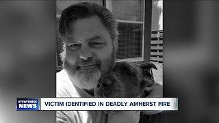 Victim identified in fatal Amherst fire