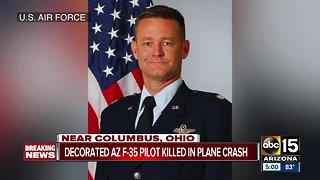 Decorated F-35 pilot killed in plane crash