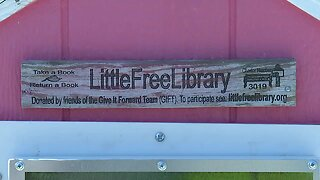 Little Free Library on Boise Bench repaired after being vandalism