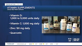 Local pharmacist encourages vitamins for COVID-19 prevention