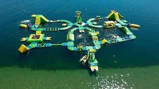 This Inflatable Water Park Near Toronto Is Bigger And Better Than Ever