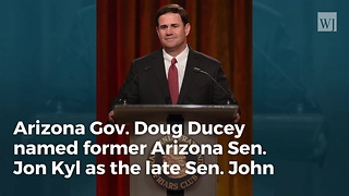 Breaking: Arizona Governor Announces Replacement for John McCain