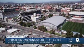 UArizona to resume bringing back student-athletes