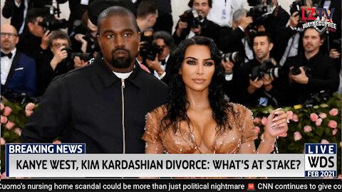 Kanye West, Kim Kardashian Divorce: What's at Stake?