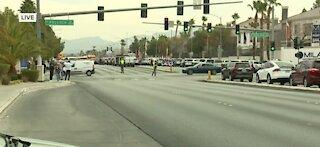 Vegas police involved in shooting near Silverado Ranch, Pollock