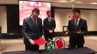 Governador Camilo Santana Assina Acordo Com Banco Chinês