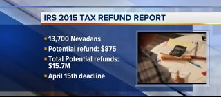 Nevadans missing out on money