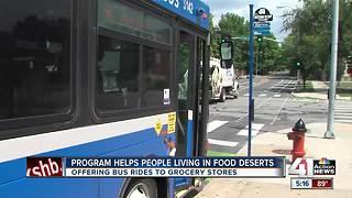 Program helps people living in food deserts